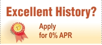 0% APR credit cards for excellent history