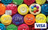 Credit One Bank®: Credit One Bank® Platinum Visa® with Cash Back Rewards