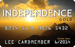 Horizon Card Services: Independence Gold Card