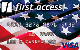 The Bank of Missouri: First Access American Pride Visa® Credit Card